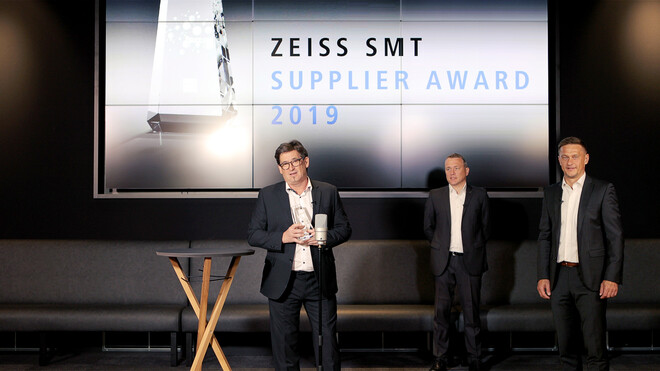Toolcraft erhält den ZEISS Supplier Award 2019