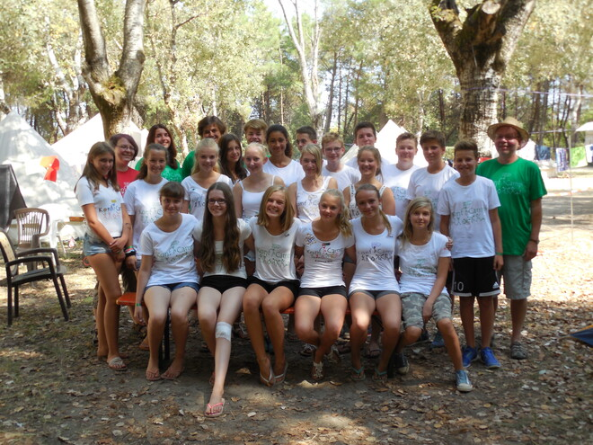Konfirmanden-Camp 2015 in Ravena