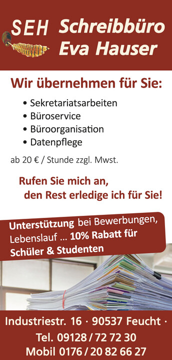 SEH - Schreibbüro Eva Hauser