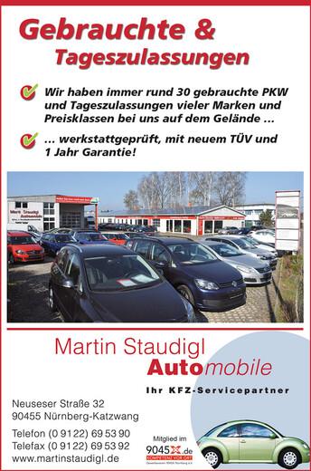 Martin Staudigl Automobile