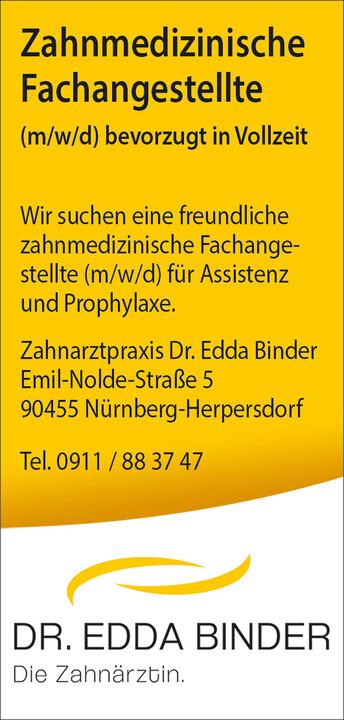 Zahnärztin Dr. Edda Binder