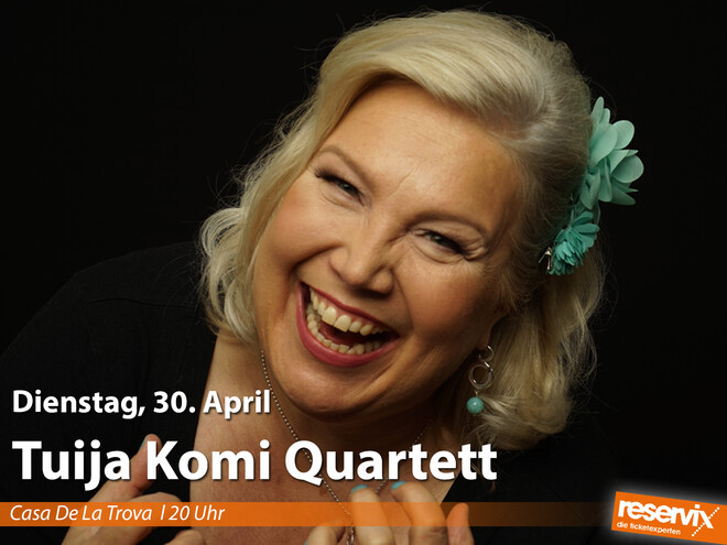 Tuija Komi Quartett / Jazz & Blues Open Wendelstein