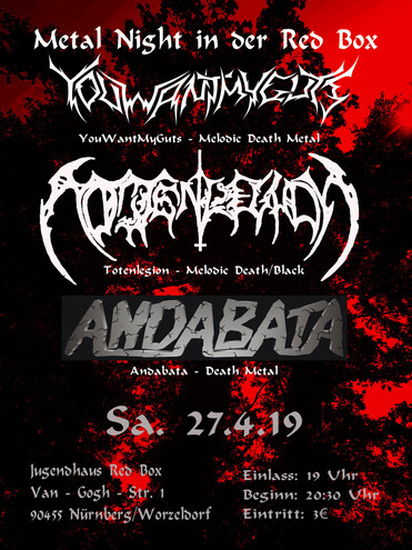 Rock- / Metalkonzert