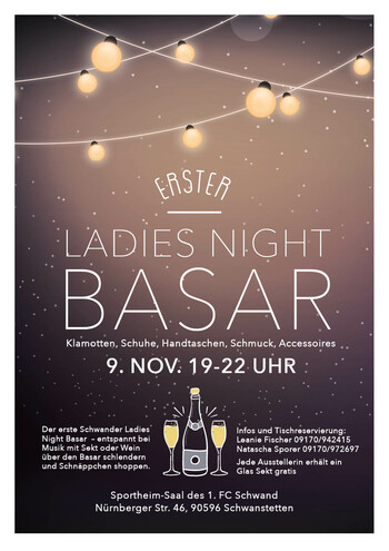 1. Ladies Night Basar Schwand