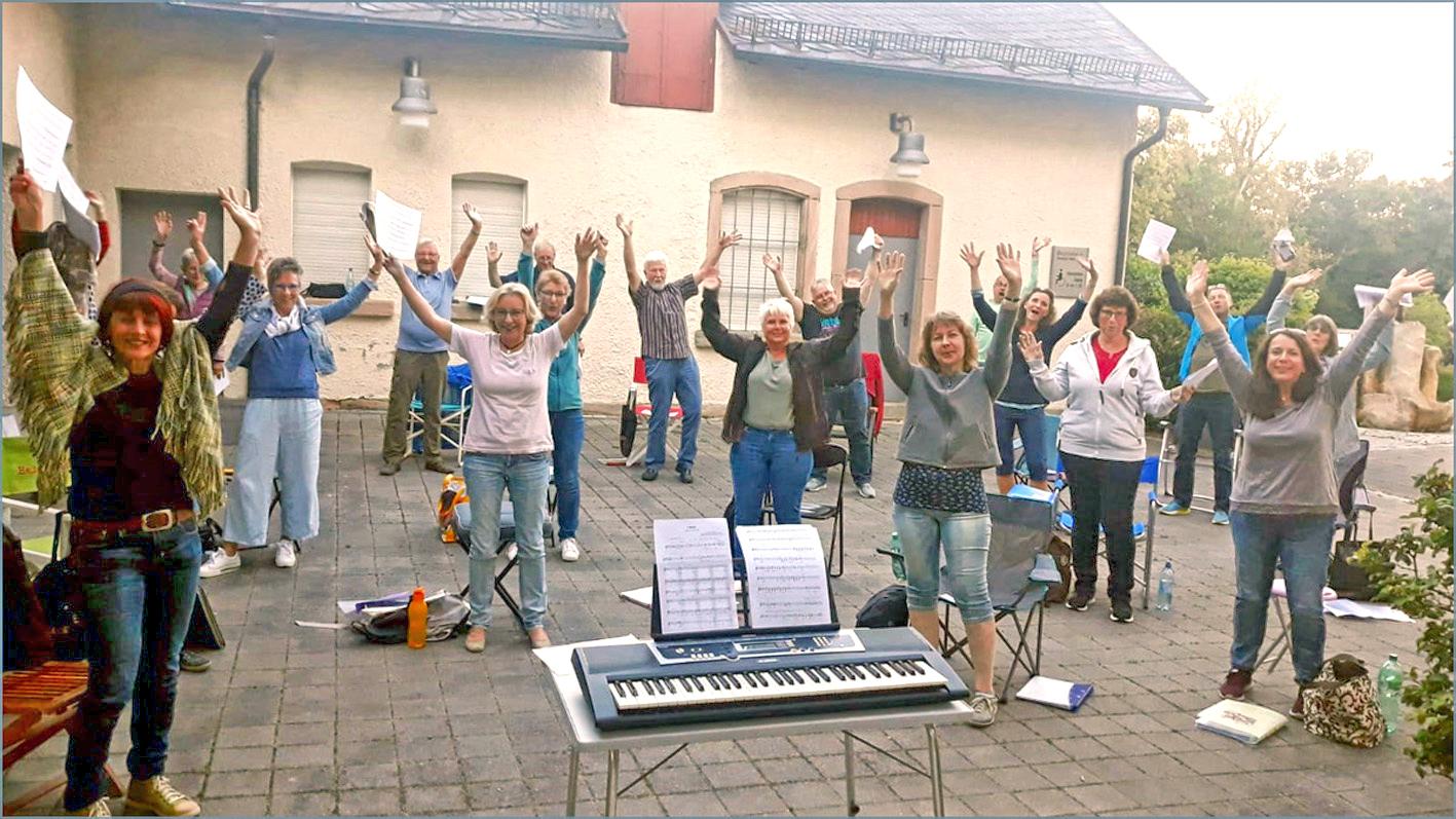 Corona Singen Im Freien