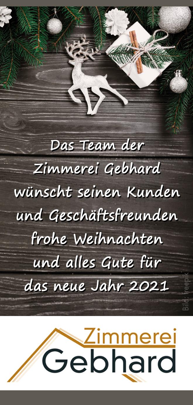 Zimmerei Gebhard GmbH und Co. KG