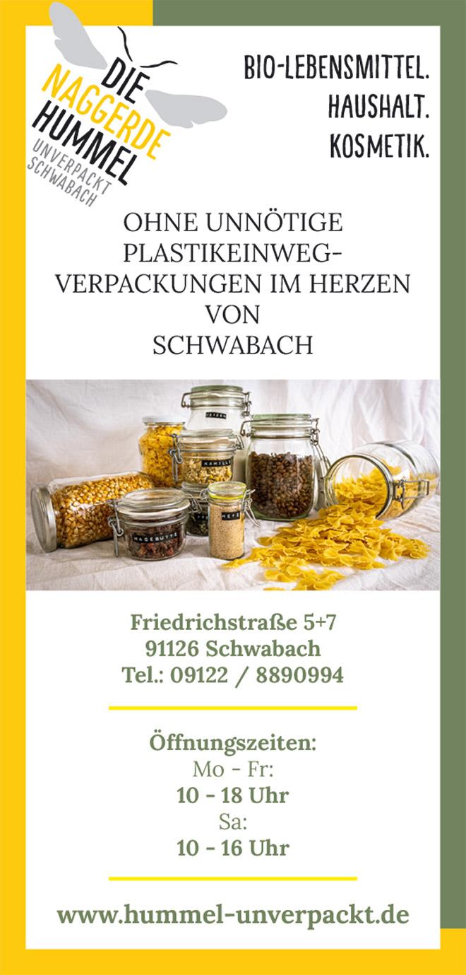 Die naggerde Hummel - unverpackt Schwabach