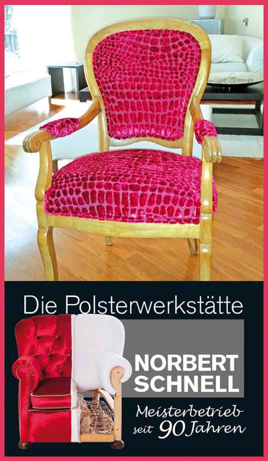 Die Polsterwerkstätte Norbert Schnell