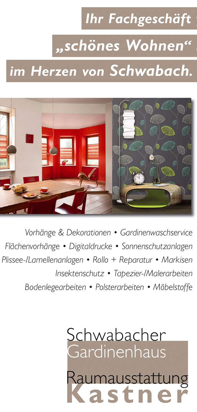 Schwabacher Gardinenhaus