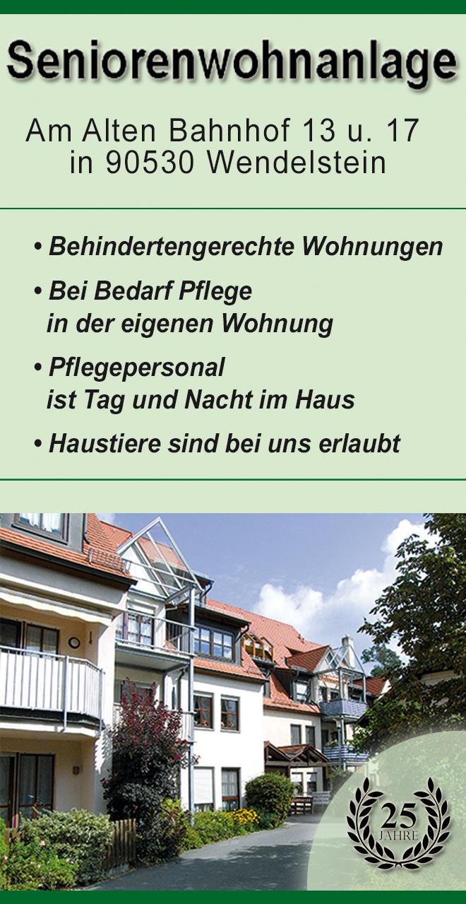 """Seniorenwohnanlage """"Am alten Bahnhof"""""""