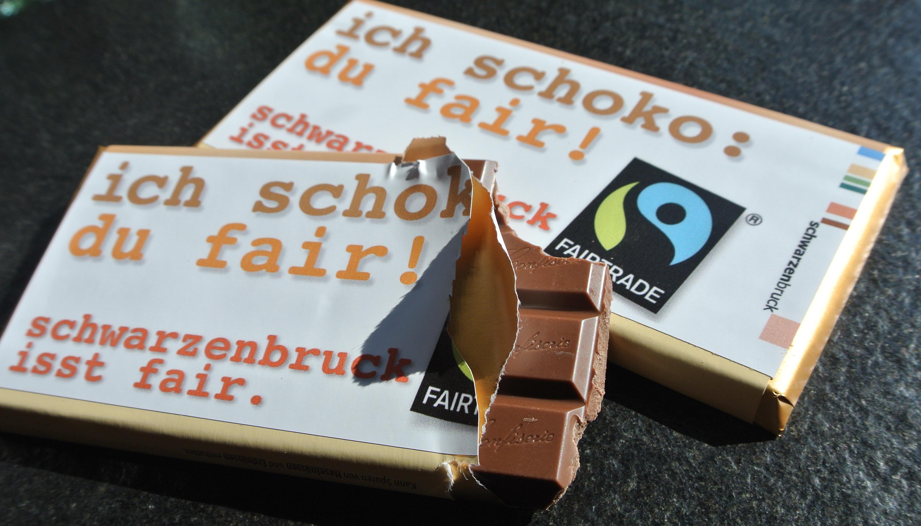 Schwarzenbruck zum Anbeissen: die neue FairTrade