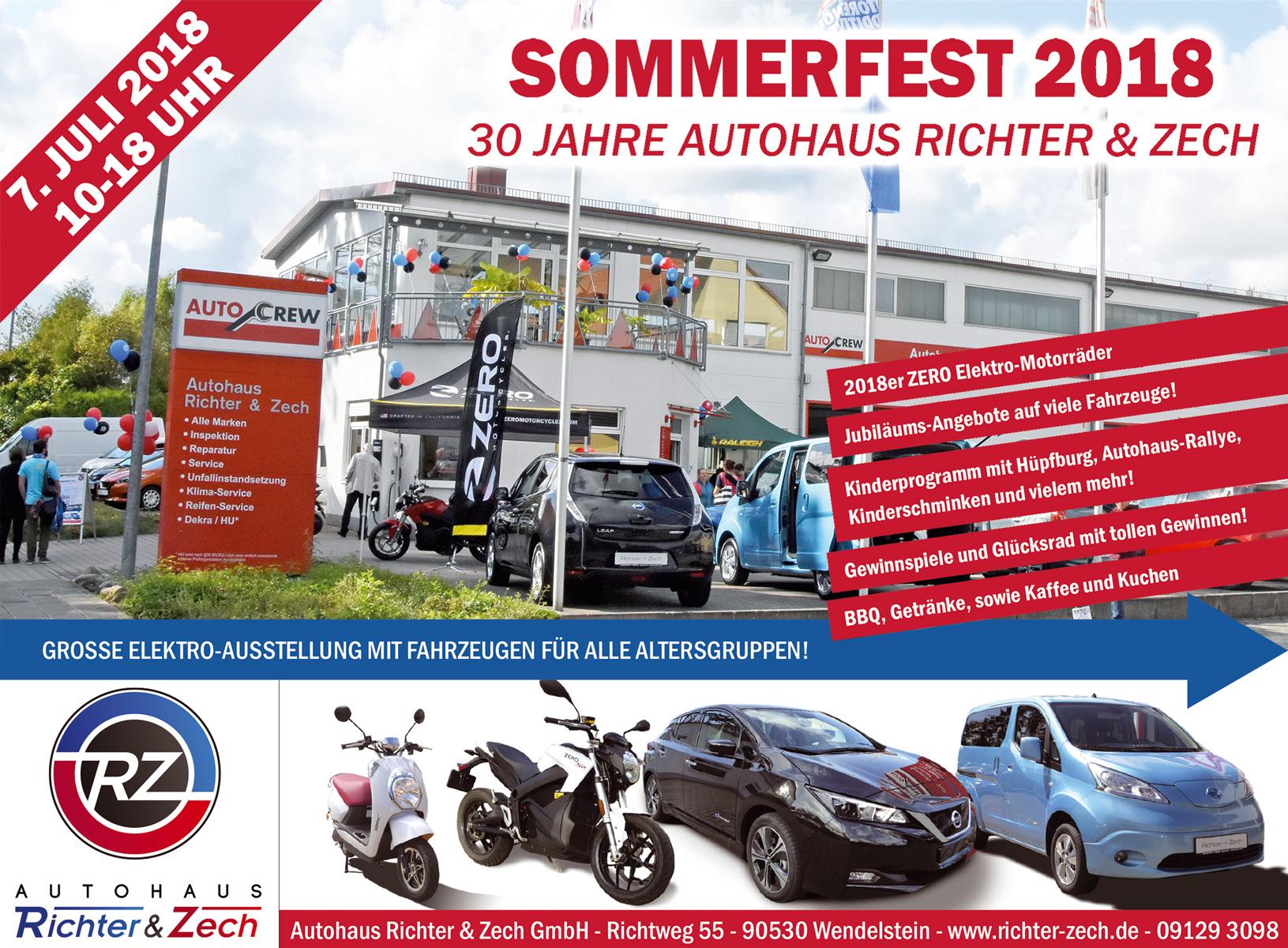 30. Jubiläum: Sommerfest bei Richter & Zech - Wendelstein - meier ...